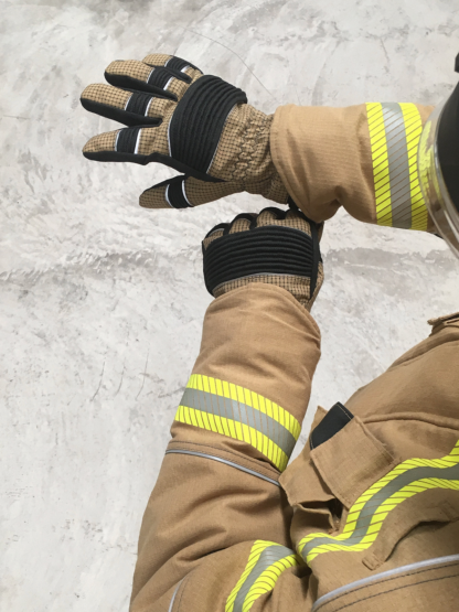 Bristol Titan PBI Structural Firefighting Gloves - The first fabric firefighting gloves