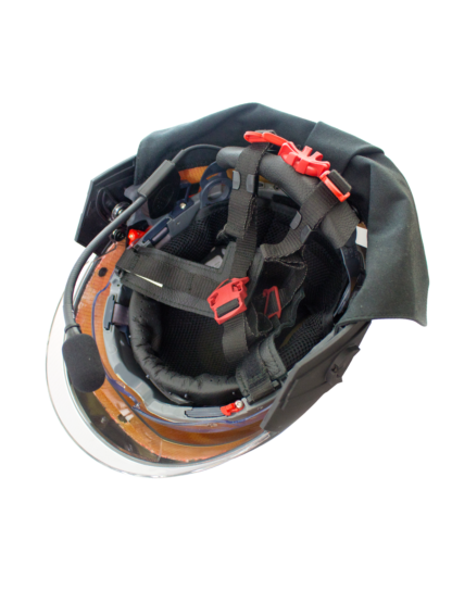 F15 Structural Firefighting Helmet - Inside