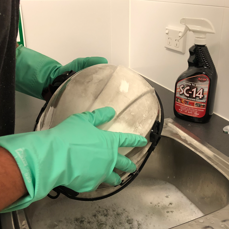 Citrosqueeze and SC-14 - new PPE Cleaning Products available from Pac Fire Australia