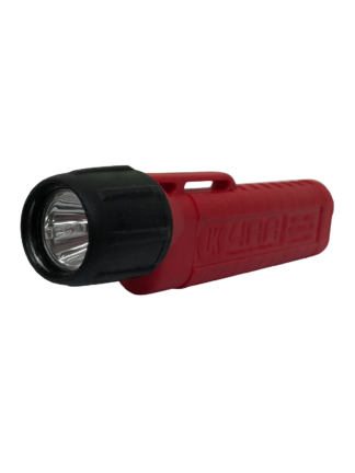 Red Herculite 4AA Helmet Torch - Underwater Kinetics