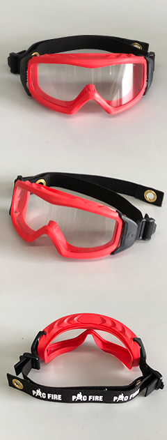 Pac Fire Helmet Mounted Goggles