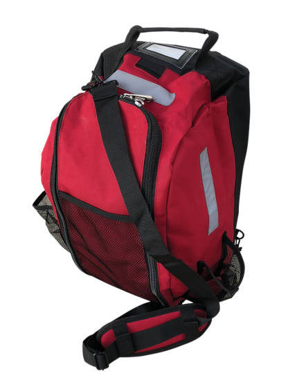 Budgie - Small Stow Bag Red