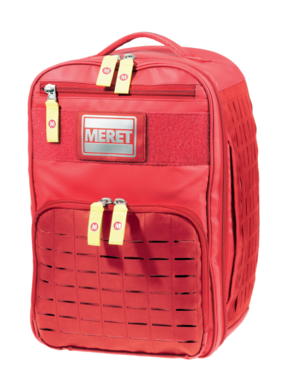 Meret V.E.R.S.A. PRO Medical Bag - Red Infection Control