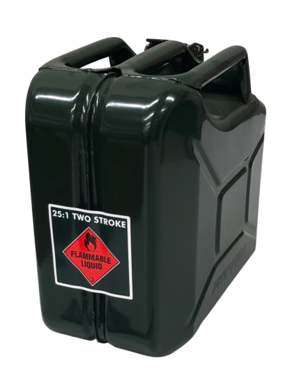 Jerry Can - 25:1 Two Stroke - Bottle Green