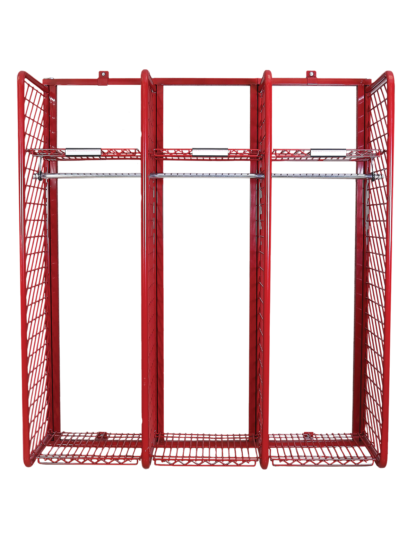 Red Rack Wall Mounted