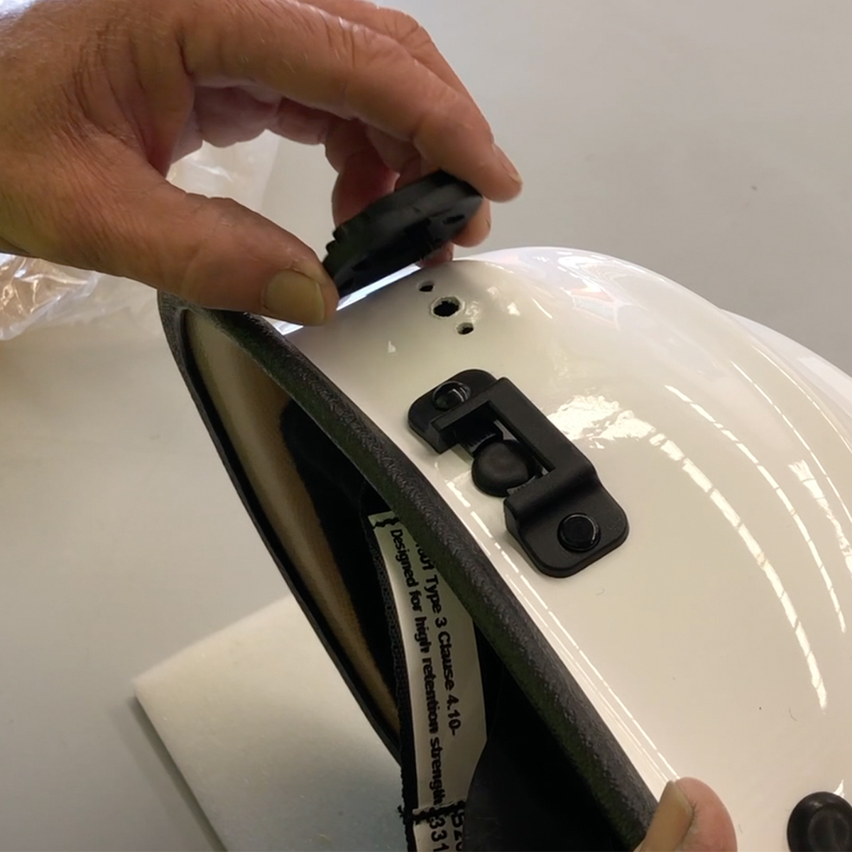 Retrofitting the HBR9 with a Clip On Visor
