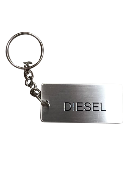 Metal Jerry Can ID Tag - Diesel