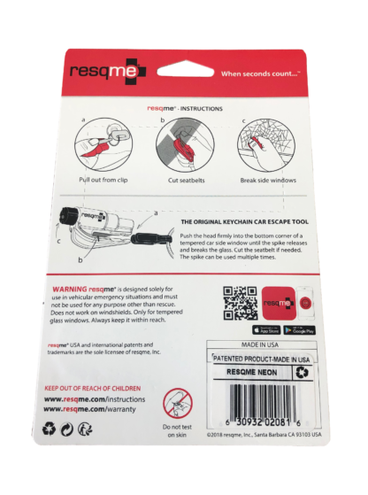 ResQMe® Car Escape Tool
