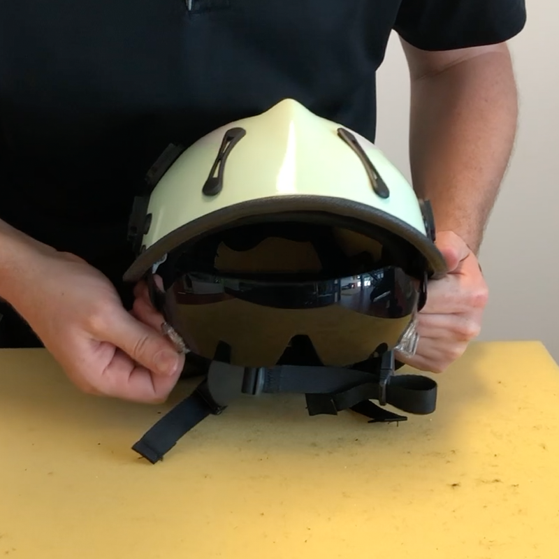 New Video: Changing the Internal Eye Protector in an R6 Series Helmet