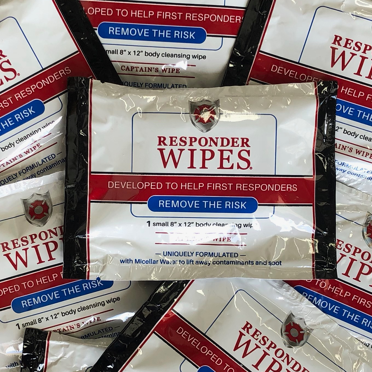Big Protection. Compact Size. The Captains Pack from Responder Wipes