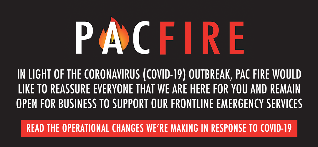 Pac Fire and our response to Coronavirus (COVID-19)