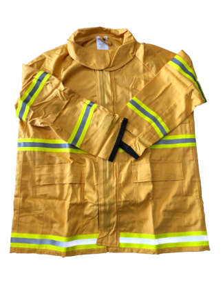 Techs260 Wildland Firefighting Jacket - Gold