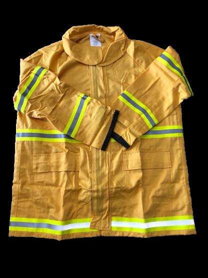 Techs260 Wildland Firefighting Jacket - Gold