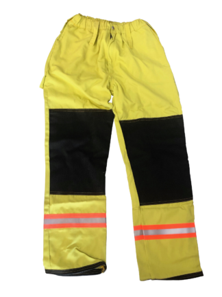 Tecasafe DERM style Wildland Firefighting Trousers - Lime