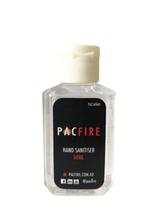 Pac Fire Hand Sanitiser Gel - 60ml