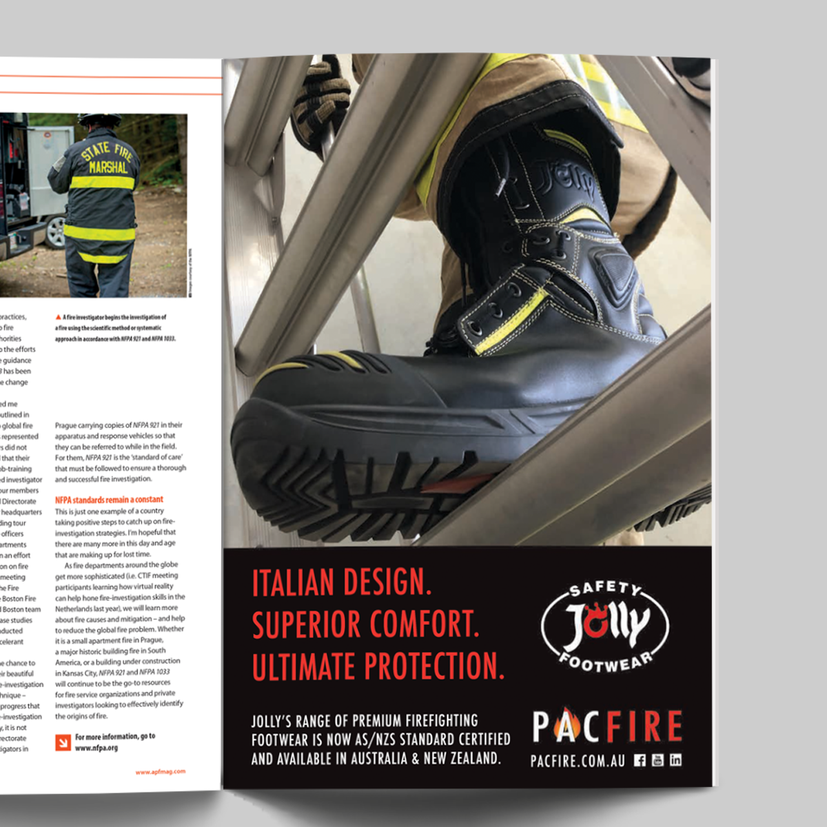 Introducing the Pac Fire Jolly Boots Range