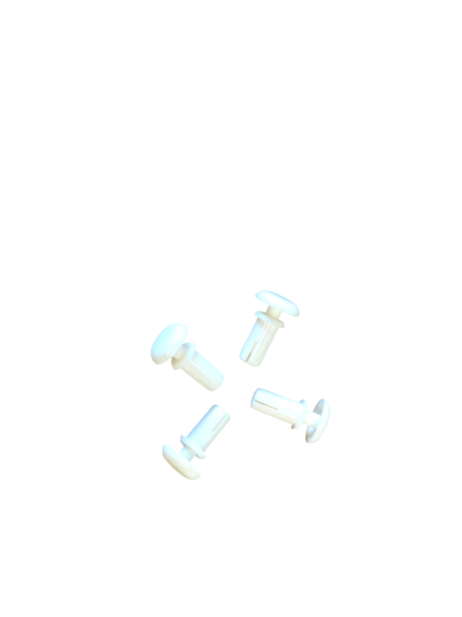 Replacement White Rivet Set