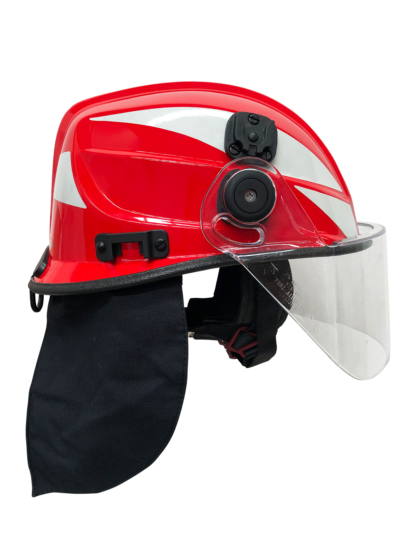 Pacific F11 3/4 Jet Style Structural Firefighting Helmet