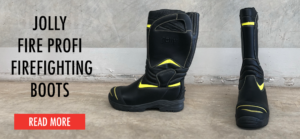 Jolly Fire Profi Pull-On Style Structural Firefighting Boots