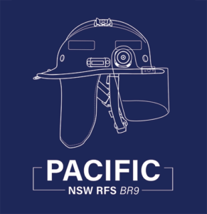 NSW RFS BR9 Wildland Firefighting Helmet