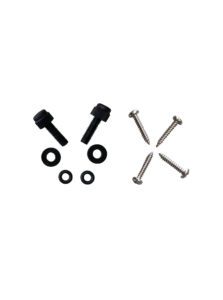 B2126572 - Chinstrap replacement screw set for Pacific F3D MkII GEN2 structural firefighting helmet