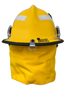 Pacific F3D MkII with GEN2 Liner and Pivot Nape Strap Structural Firefighting Helmet