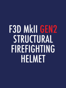 Pacific F3D MkII GEN2 Structural Firefighting Helmet Spare Parts