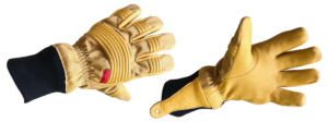 Bristol Uniforms Composite Structural Firefighting Gloves - Cowhide Leather / Nomex