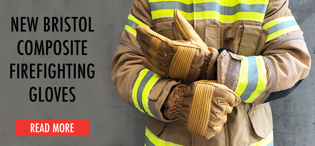 Bristol Uniforms Composite Leather & Nomex® Structural Firefighting Gloves