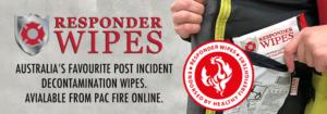 Responder Wipes Australia's Favourite Post Incident Decontamination Wipe