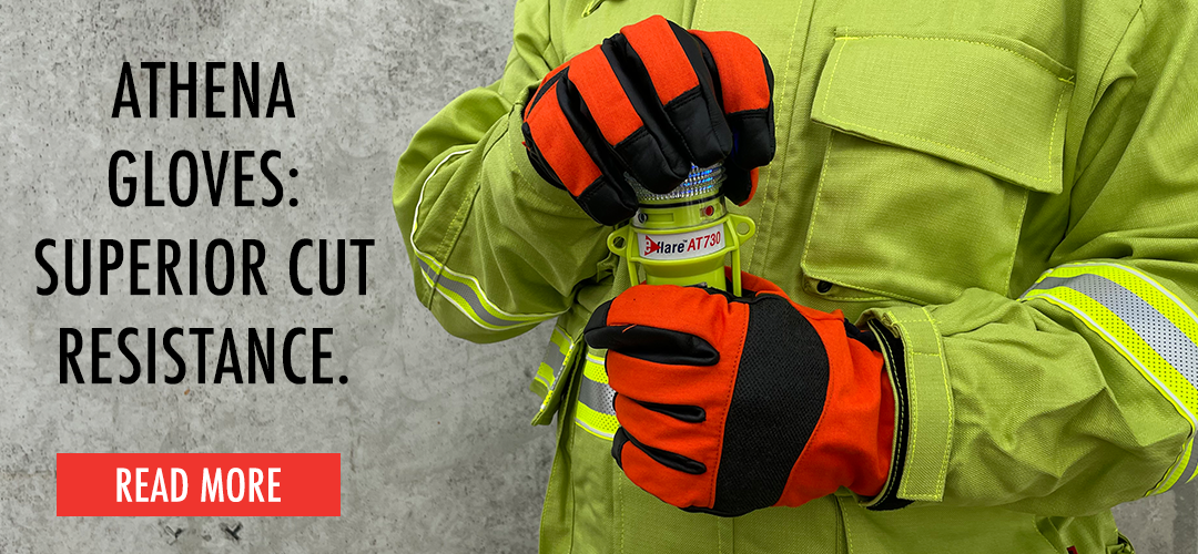 Get superior cut resistances with Athena Rescue Gloves