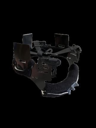 Pacific Ratchet Adjustable Headband with Ribbon Suspension and Merino comfort padding for BR5 Wildland Firefighting Helmet