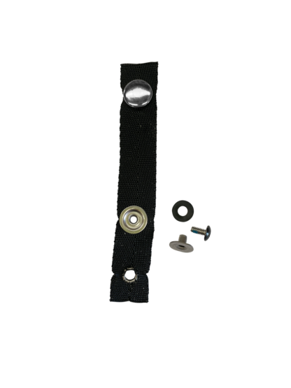 Rear Accessory Strap - Webbed with fasteners