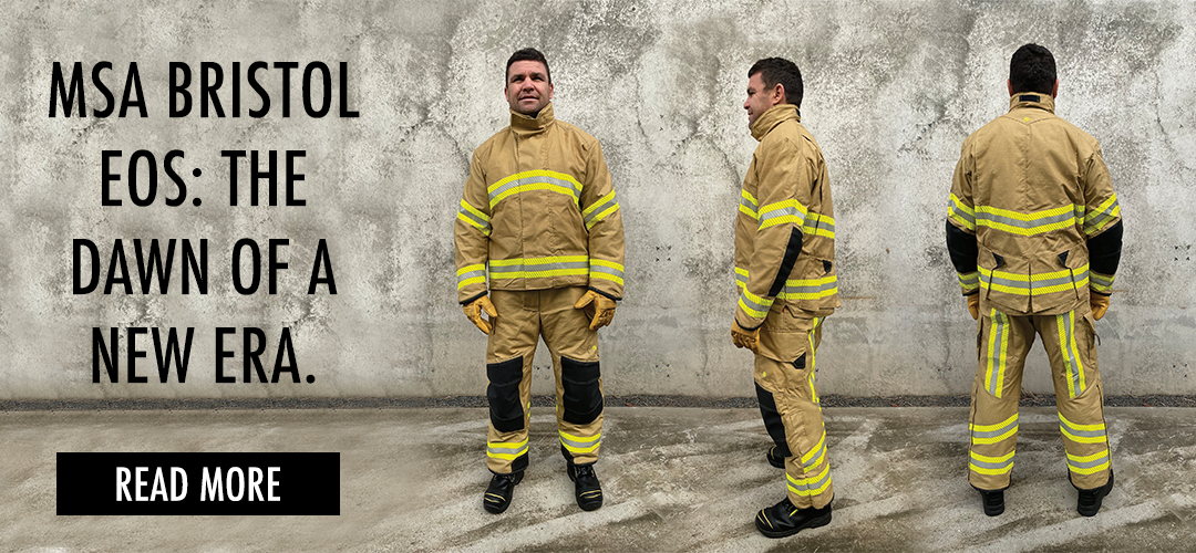 MSA Bristol EOS the dawn of a new era in structural firefighting outerwear